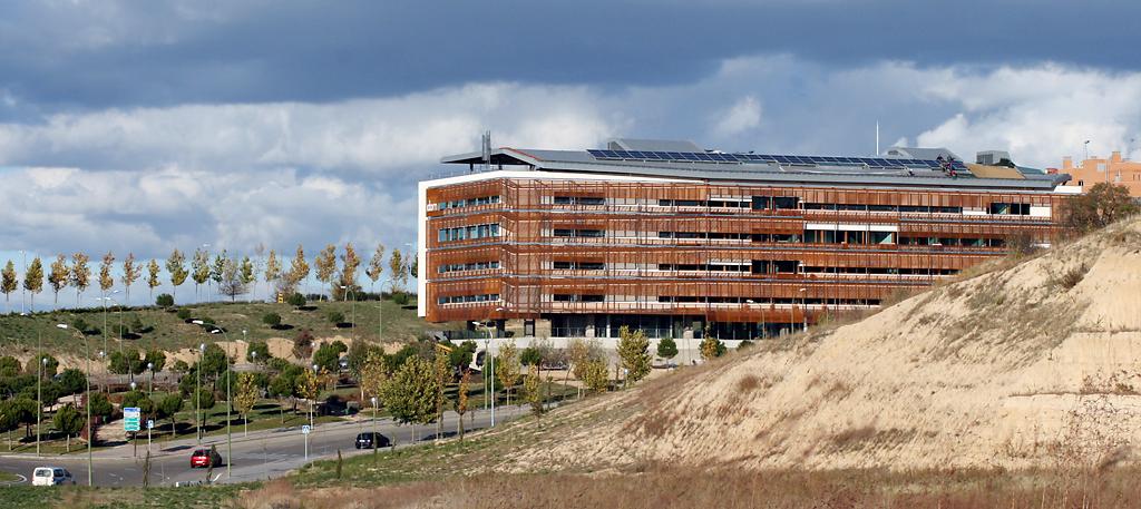 corten steel facade